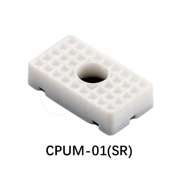 细微型气缸用挡板-方型-白色