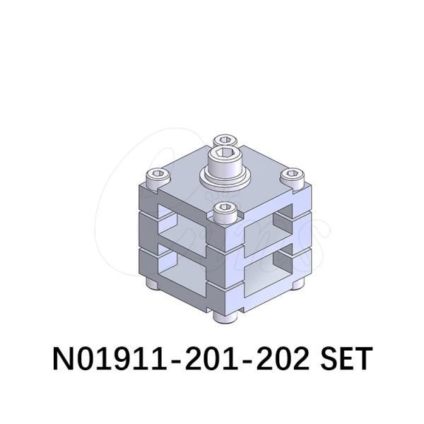 连接块组件A
